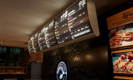 Vista Light – illuminated menu boards