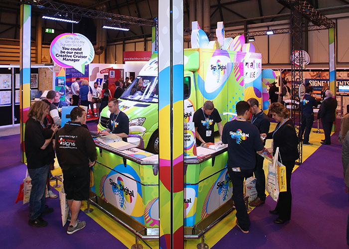 A new attraction at Sign & Digital UK