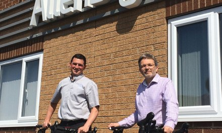 Allen Signs harnesses pedal power