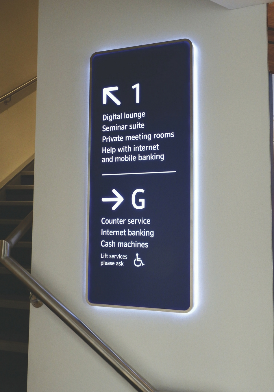 nationwide wayfinding signage