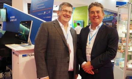 Roland DG gets positive response at Sign & Digital UK