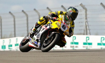 Europoint provides ColorFlow for Superbike rider