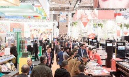 Business was buoyant at FESPA 2017