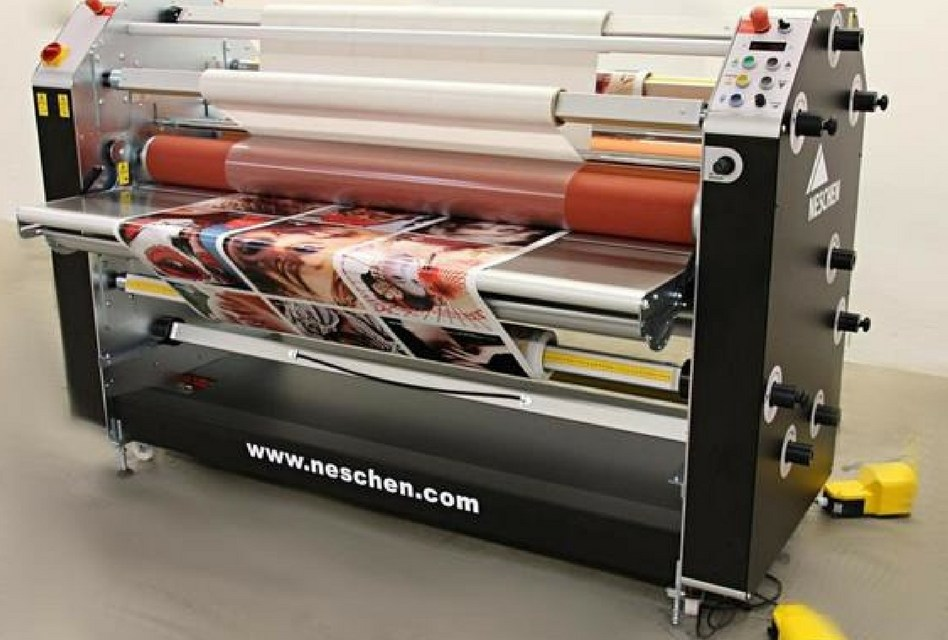 Neschen's new laminator offers a host of features