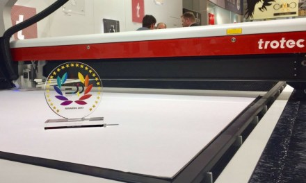 Trotec's SP2000 laser cutter scoops EDP Award