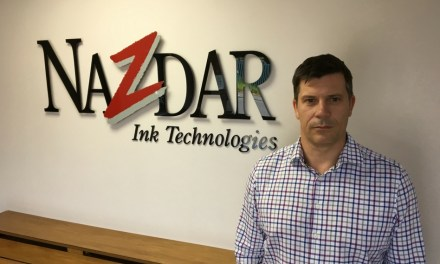 Stephen Woodhall returns to Nazdar Ink Technologies