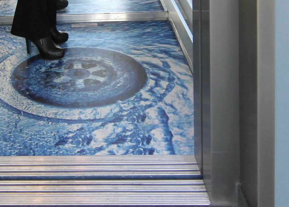Print'nGo Aslan Shower floor graphic