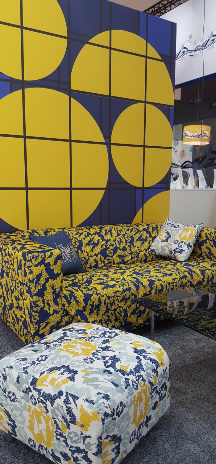 Interior collection designed by BCU Textile Design students & printed on Epson SureColor SC-F and SC-S printers