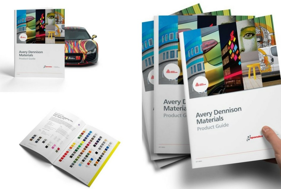 Spandex launches new Avery Dennison product guide