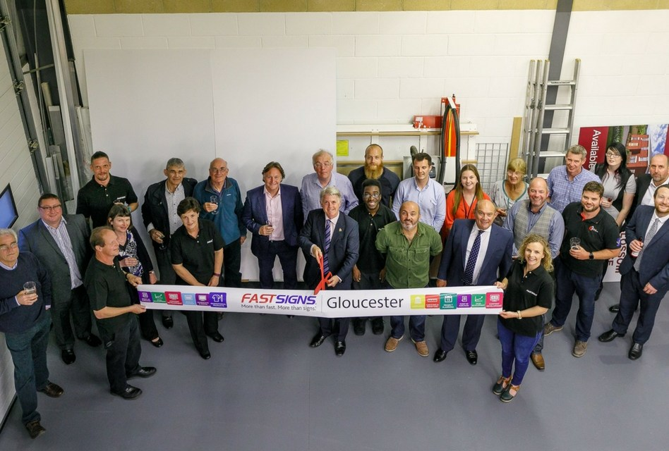 Fastsigns Gloucester cements growth plans