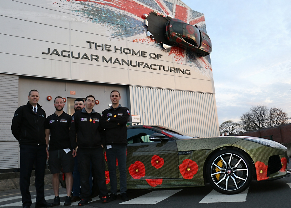 Mission Motorsport and Jaguar Landmark