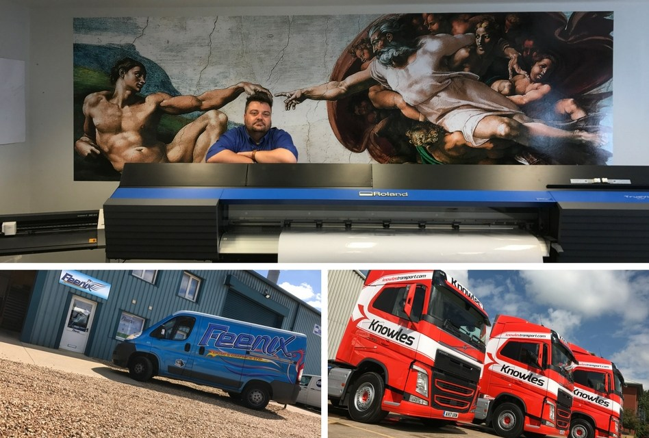 Feenix Signs & Graphics selects a TrueVIS VG-640