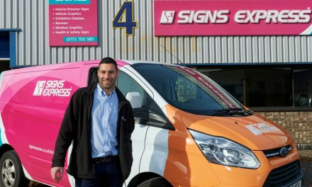 Signs Express snaps up a new franchisee