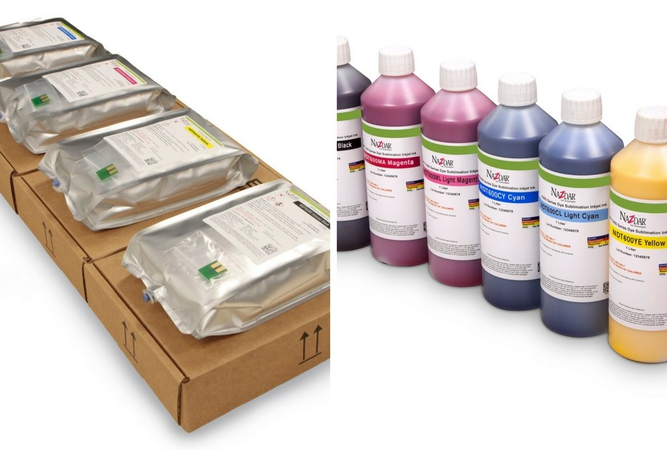 QPS offers Nazdar's latest dye-sub inks