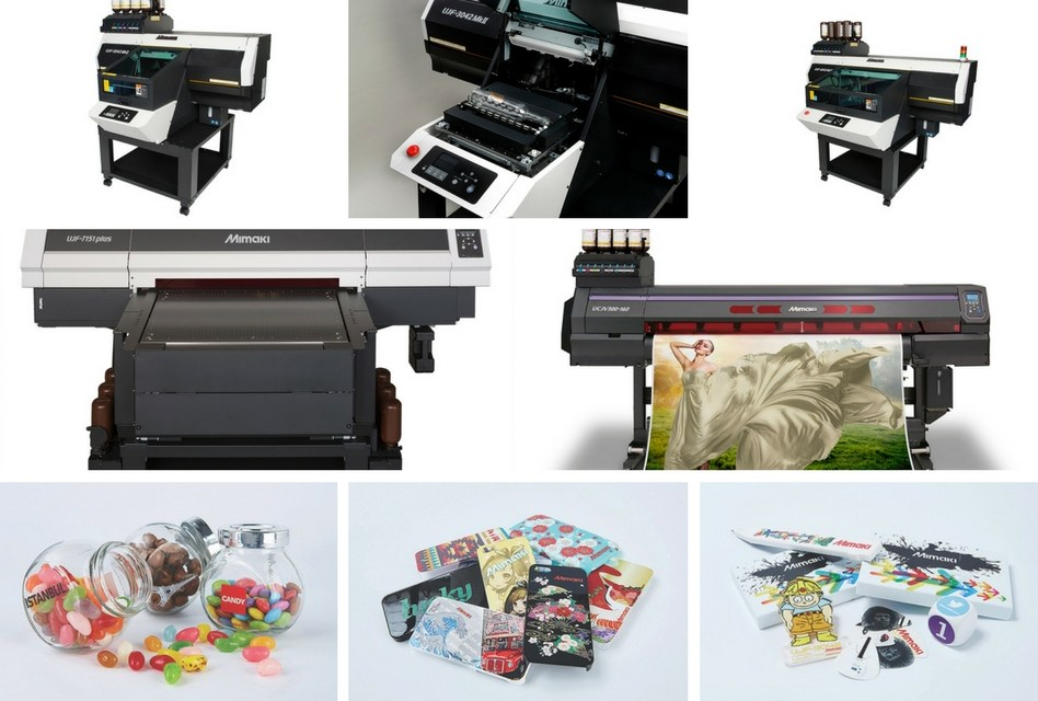See Mimaki's mini promotional product factory at PSI 2018