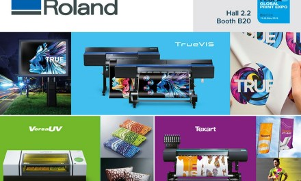 Roland DG to inspire at FESPA 2018