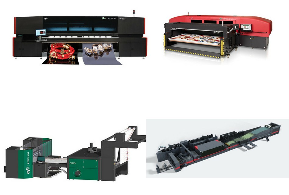 EFI unveils multiple innovations at FESPA 2018