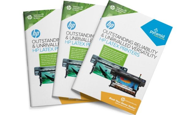 Pyramid becomes an authorised reseller for HP Latex