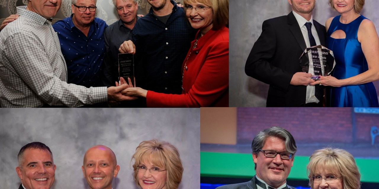 Four Fastsigns centres scoop 10 awards