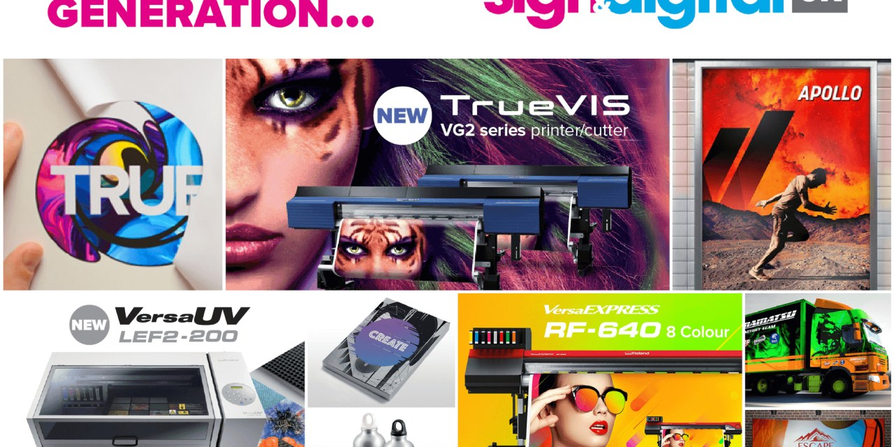 Roland DG introduces the Future of Printing