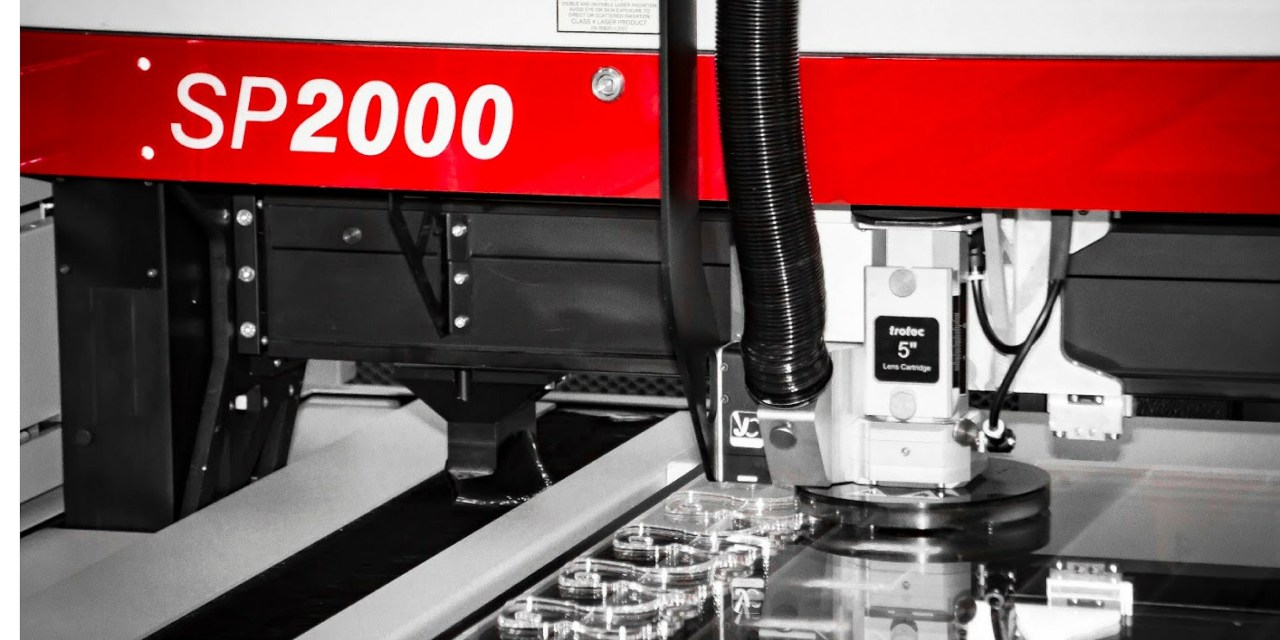 Trotec brings large format laser cutting to the UK