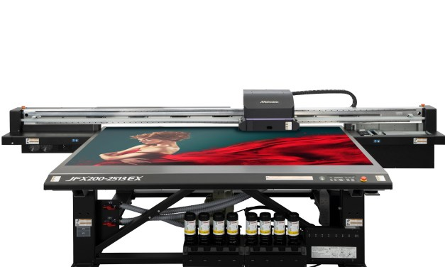 New Mimaki JFX200-2513EX doubles productivity