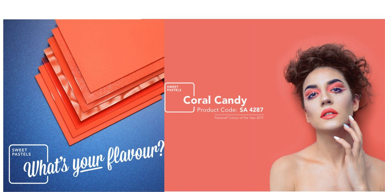 PERSPEX releases Coral Candy