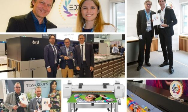 Agfa, Durst, Mimaki, Mutoh and Roland all win EDP Awards