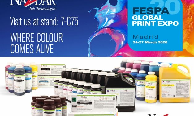 Nazdar to reveal latest Inks innovations at FESPA 2020