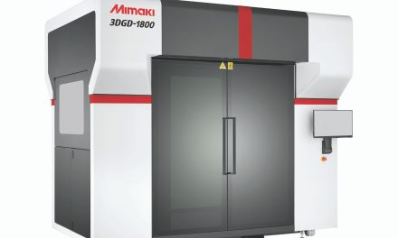 Mimaki launches a large scale 3D printer