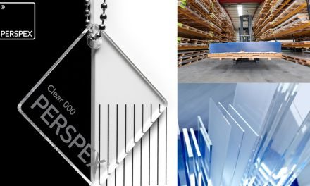 Perspex clear acrylic used for key worker protection