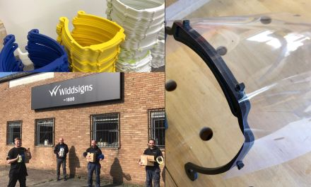 Widd Signs supports local PPE making group