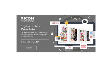 Ricoh to present 'Anything in Print!' webinar