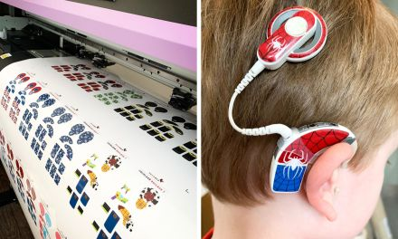 HEAROES uses a Mimaki printer to make hearing aids 'cool'