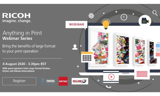 Ricoh to host webinar on potential of wide format print