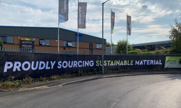 Banner Box uses sustainable materials from CMYUK