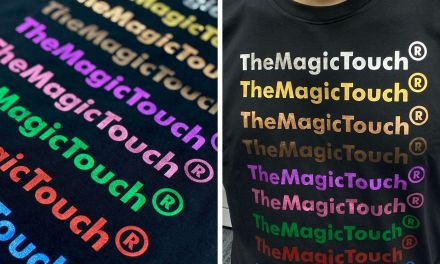 Soft Metallic from TheMagicTouch has tactile appeal