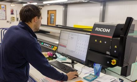 Inprint Colour guarantees reliability with a Ricoh printer
