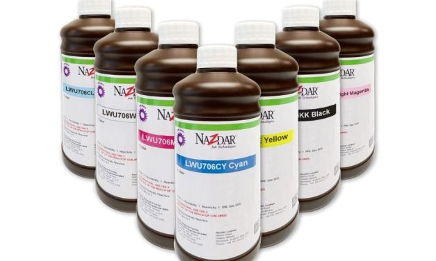 Nazdar releases the 706 Series inks for use with Mimaki printers