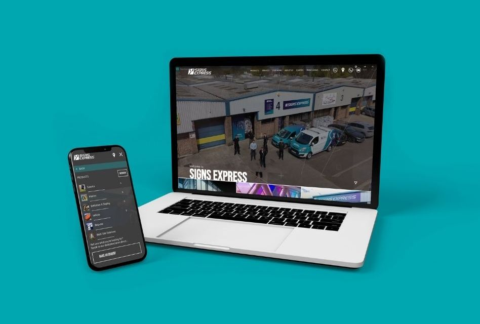 Signs Express launches a brand new website