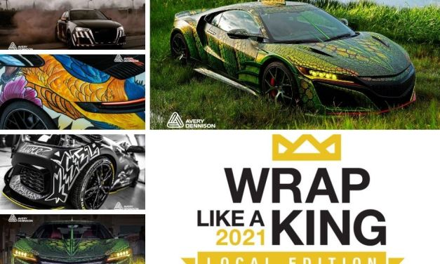 Avery Dennison's Wrap Like a King challenge is back!