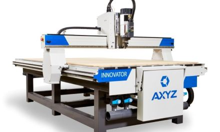AAG to show latest AXYZ Innovator router at Interplas 2021
