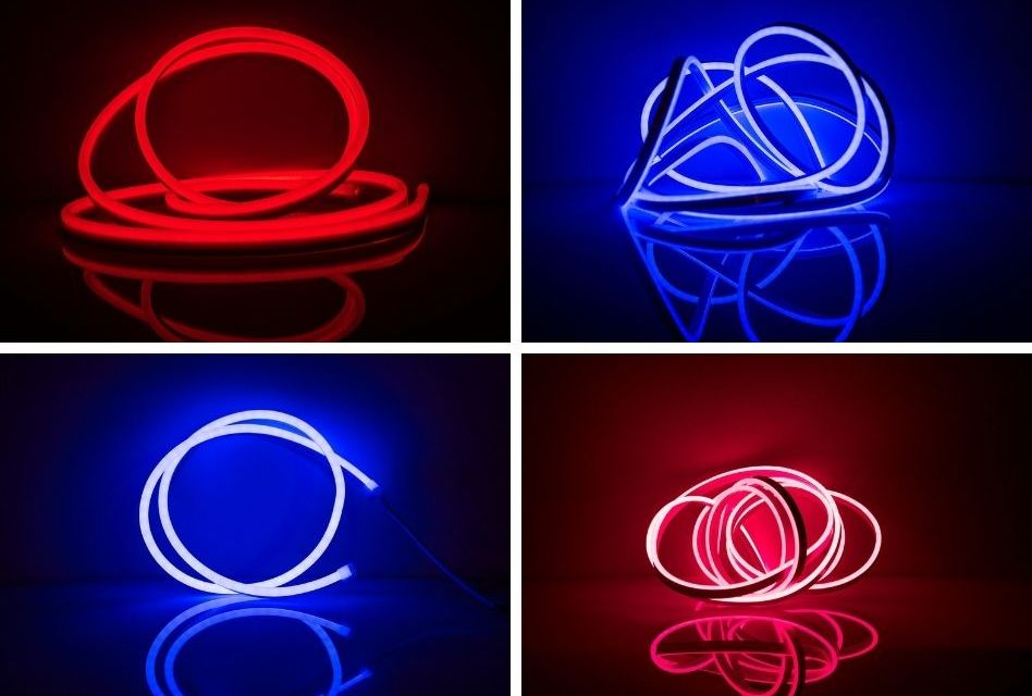 Retro Neon Flexible LEDs from Perspex Distribution