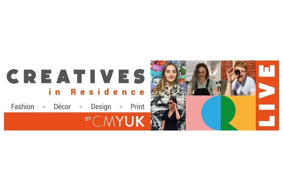 CMYUK announces its Creatives in Residence Live participants