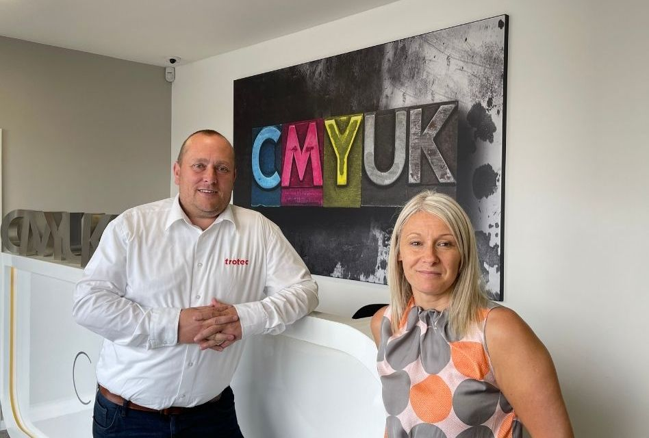 CMYUK and Trotec Laser form an exclusive partnership