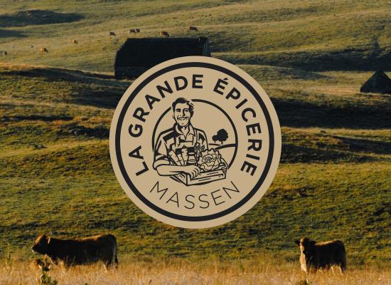 Branding la grande épicerie Massen