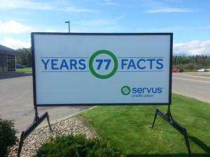 Calgary Portable Road Signs