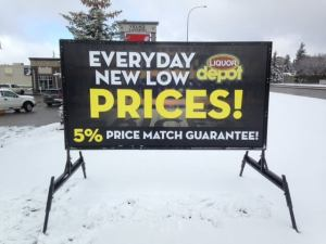 Road Side Sign Rentals Calgary