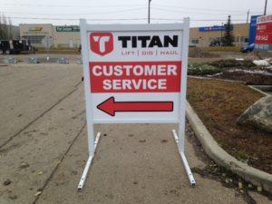 rental sign outdoor