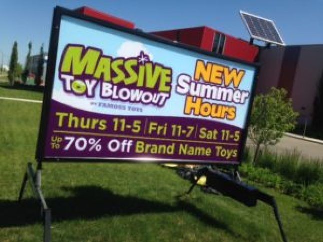 mobile sign rental guelph